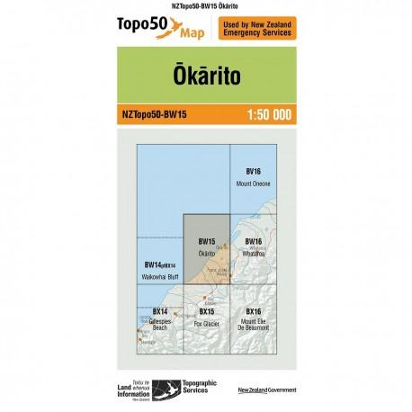 Topo50 BW15 Okarito