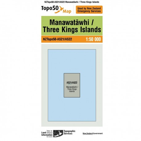 Topo50 AS21/AS22 Manawatawhi/Three Kings Island