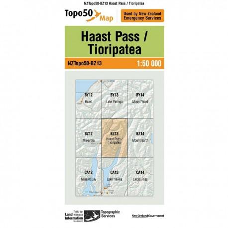 Topo50 BZ13 Haast Pass/Tioripatea