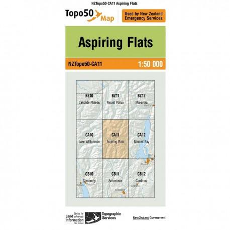 Topo50 CA11 Aspiring Flats
