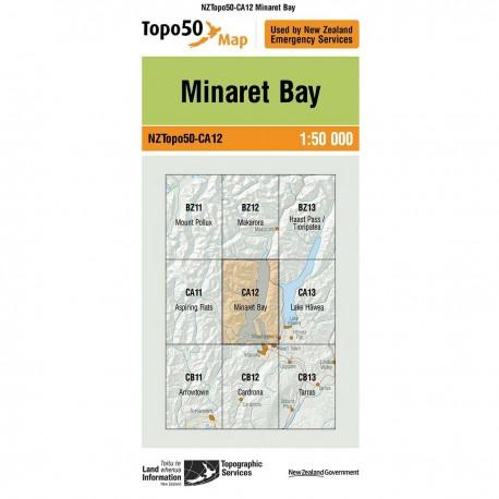 Topo50 CA12 Minaret Bay