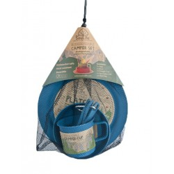 EcoSouLife Camping Food Set-Biodegradable - Blue