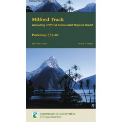 Milford Track Parkmap