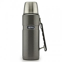 Thermos Flask Stainless Steel Hammertone 1.2 Litres