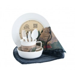 EcoSouLife Camping Food Set-Biodegradable - Sand