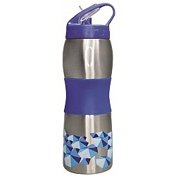 Cheeki Sports Bottle 600ml - 3D Blue