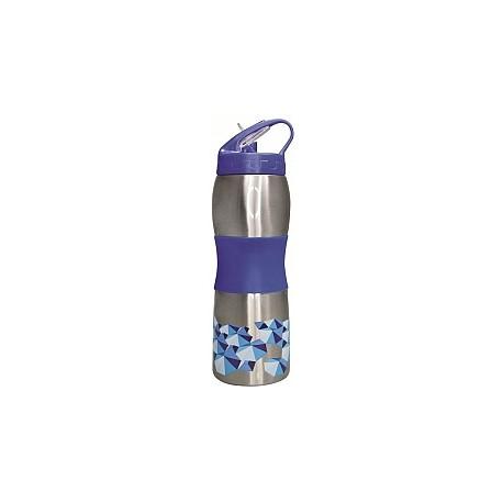Cheeki Sports Bottle 600ml - 3D Blue